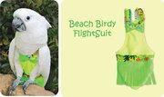 Защита птиц от самоощипывания,  защита владельцев от птичьего помёта -