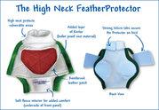 Одежда,  защищающая перо попугая и птиц