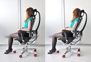 Кожаное кресло офис киев Wagner