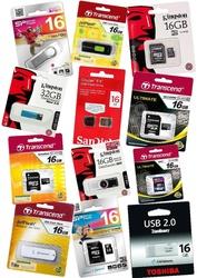 Продам: флеш-память USB,  карты памяти