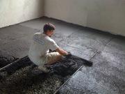 Стяжка підлоги з полістиролбетону. Утеплення покрівель.