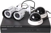Видеонаблюдение,  видеорегистратор dvr,  камера видеонаблюдения