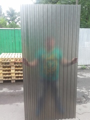 Градоустойчивый прозрачный шифер Marlon CS Шагрень