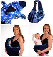 Слинг - сумка через одно плечо для переноски ребенка
