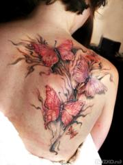 Художественная tattoo,  тату хной,  глиттер тату