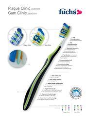 Инновационная зубная щетка fuchs Gum Clinic medium,  Германия