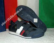 Кроссовки детские кожаные Sergio Tacchini из Италии