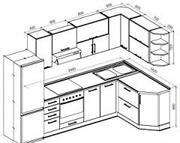 Изготовление мебели на заказ с ДСП,  МДФ