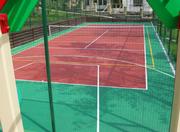 Теннисный корт,  строительство Украина