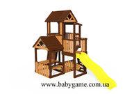 Детские игровые площадки нового поколения