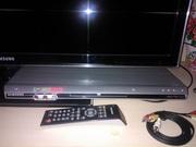 Плеер dvd Samsung dvd-p376kd с karaoke вход 2-х микрофонов