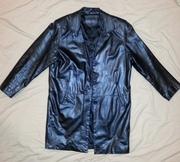 Кожаная куртка мужской френч