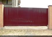 Ворота откатные,  распашные,  раздвижные,  гаражные,  промышленные,  забор