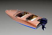 Проект фанерной моторной лодки для любительской постройки