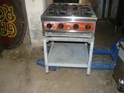 Продам б.у. газовую плиту Castom Heat
