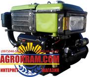 Одноцилиндровый  двигатель ДД195В на мотоблок,  трактор