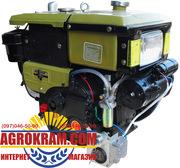 Одноцилиндровый  двигатель ДД195ВЭ на мотоблок,  трактор