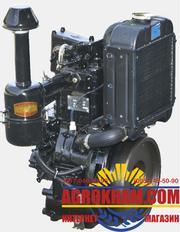 Одноцилиндровый  двигатель DLH1105 на китайский минитрактор
