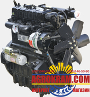 Трехцилиндровый двигатель TY395IT на китайский минитрактор