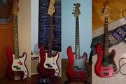 Fender Squier Precision Bass (emg pickups)