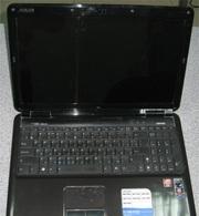 Нерабочий  ноутбук  Asus K50AB на запчасти .