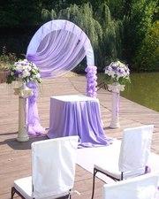 Оформление арки на свадьбу Киев