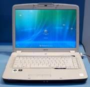 Продам на запчасти нерабочий ноутбук Acer Aspire 5720 (разборка и уста