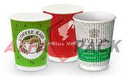 Печать на стаканах и упаковке,  брендирование одноразовой посуды