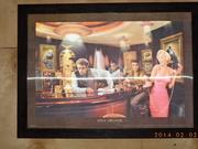 Картина Монро в кафетерии