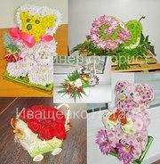 Игрушка из живых цветов на заказ Киев