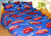 Детская постель недорого - комплект Молния Маккуин,  ранфорс