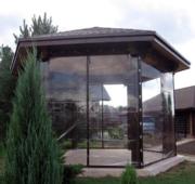 Прозрачные ПВХ шторы – «мягкие окна» - для беседок,  веранд,  террас,