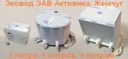Лучший бесфильтровый очиститель воды Эковод 6,  3 и 9 литров Жемчуг.
