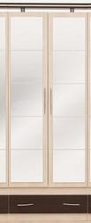Дверь к шкафу с зеркалом (пара) Леди