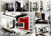 Услуги  дизайнера интерьера,  экстерьера и 3d визуализация Киев.