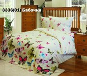 Купить постельное белье в Украине,  Комплект Бабочки