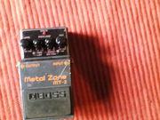 Педаль Boss Metal Zone MT-2 distdistortion с блоком питания