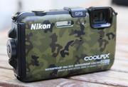 Продается цифр. фотокамера Nikon Coolpix AW120 Camouflage