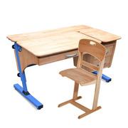 Парта со стулом деревянные