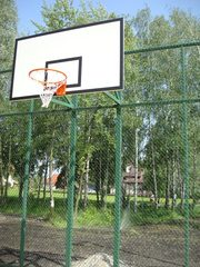 Баскетбольные щиты,  корзины,  стойки баскетбольные