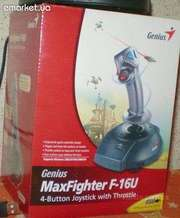 Джойстик Genius. MaxFighter F-16U