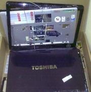 Нерабочий ноутбук Toshiba Satellite A200 на запчасти.