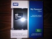 hdd внешний wd wdbgpu0010bbk-eesn, 1000gb, в упаковке, 3 года гарантии