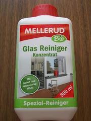 Органический очиститель стекла и зеркал (концентрат) Mellerud BIO