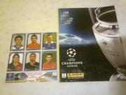 Альбом Panini (пустой) Лига чемпионов 2008/2009 + шесть наклеек.