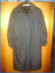 Пальто-плащ (анорак ) женский утепленный 46 и 48 р