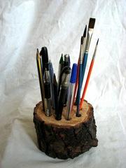 подарок из дерева для офиса