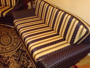 Перетяжка,  ремонт мягкой мебели на дому и в цехе. Гарантия качества.