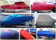 Тенты для лодок и катеров.