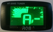 Тюнер для настройки гитары,  скрипки,  укулеле AROMA AT-200D